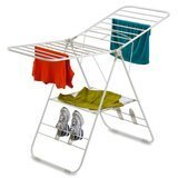 Honey-Can-Do White Heavy Duty Gullwing Drying Rack