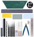 Esoca 27-Piece Modeler Tools Kit