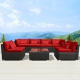 Modenzi 7-Piece Outdoor Sectional Patio Furniture