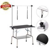 Haige Pet Large Heavy-Duty Pet Dog Grooming Table