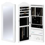 Best Choice Products Mirrored Wall Mounted Jewelry Armoire
