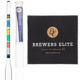 Brewer's Elite Hydrometer for Home Brew Beer, Wine, Mead, and Kombucha