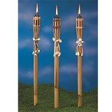 Bamboo Bamboo and Seashell Torches – 12 Pack