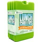 Bentgo Ice Lunch Chillers Ultra-thin Ice Packs - Pack of 4