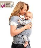 QAQADU Baby Wrap Carrier - Ring Sling for Newborn and Infant