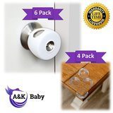 A & K Baby Products Doorknob Safety Cover