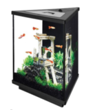 Aqueon LED Tri-Scape Aquarium Starter Kit, 3 Gallon