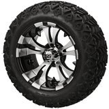 Golf Cart Tire Supply Vampire Low Profile Golf Cart Wheels