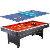 Maverick Pool and Table Tennis Table, 7 Foot