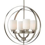 Home Decorators Collection Brushed Nickel Chandelier