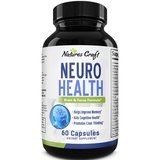Huntington Labs Neuro Health Brain and Focus Formula, 60 Count
