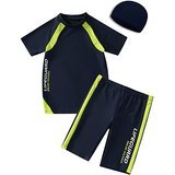 KID 1 2 3 4 Boys' Two-Piece Swimsuit