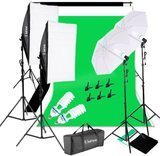 Kshioe Photography Video Studio Lighting Kit