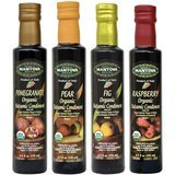 Mantova Organic Flavored Balsamic Condiments