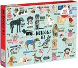 Mudpuppy Hot Dogs A-Z Puzzle, 1,000 Pieces