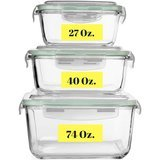 Razab HomeGoods Extra-Large Food Storage Containers