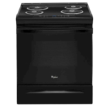 Whirlpool 4.8 Cubic Foot Self-Cleaning Slide-In Electric Range