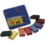 Stockmar Beeswax Block Crayons - 8 Standard Colors i