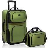 U.S. Traveler Rio Expandable Carry-On Luggage Set